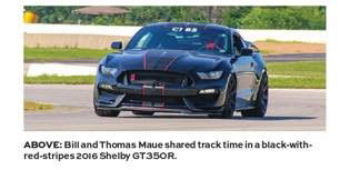 Bill and Thomas Maue Mustang Times
