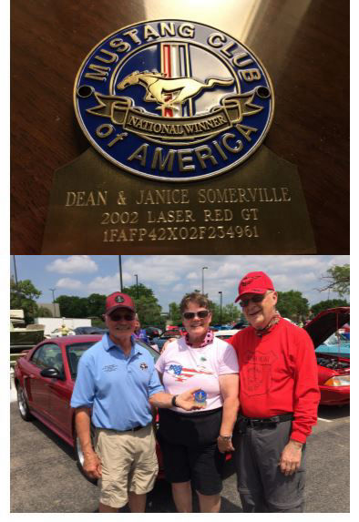 Dean and Jan Blue Grille Medallion